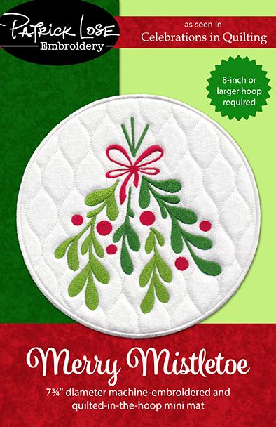 Merry Mistletoe MINI MAT