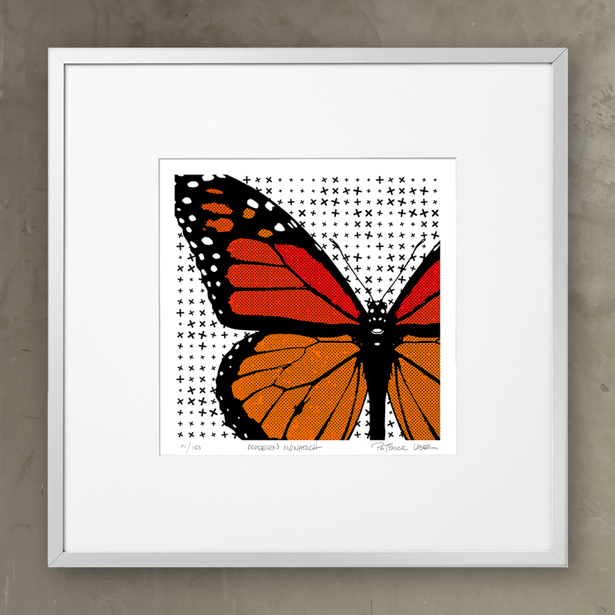 Framed Modern Monarch