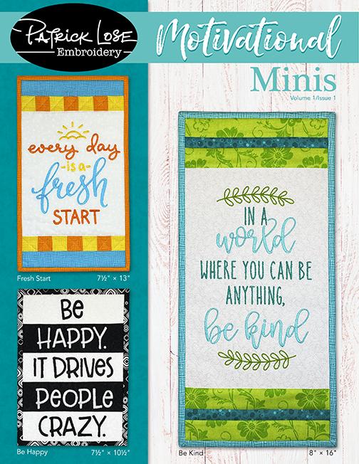 Motivational Minis VOLUME 1/ISSUE 1