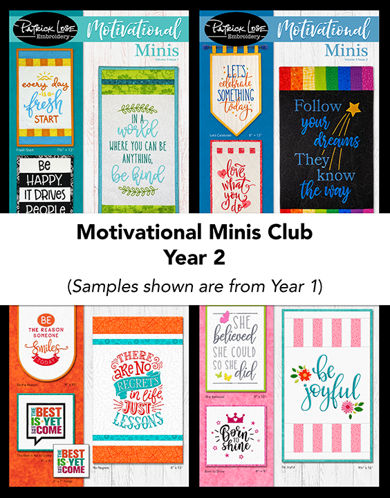 Motivational Minis Club Volume/Year 2
