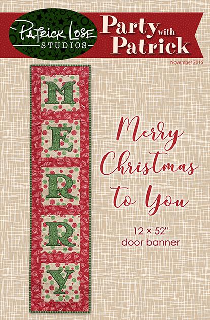 Merry door banner