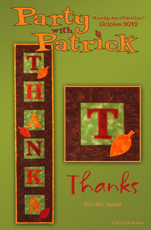 October 2012 / Thanks
