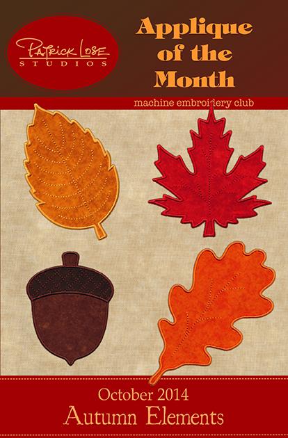 October 2014 Applique/non-member