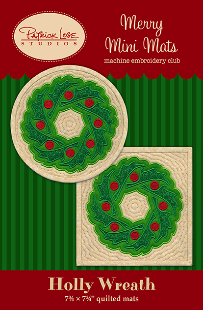 October 2014/Holly Wreath