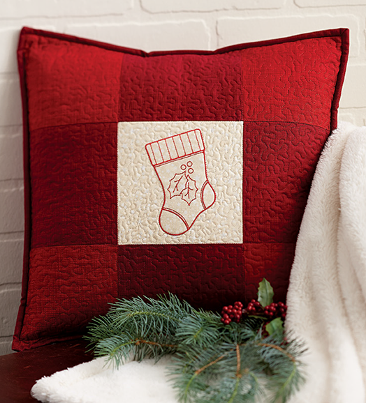 Patchwork Pillow stocking