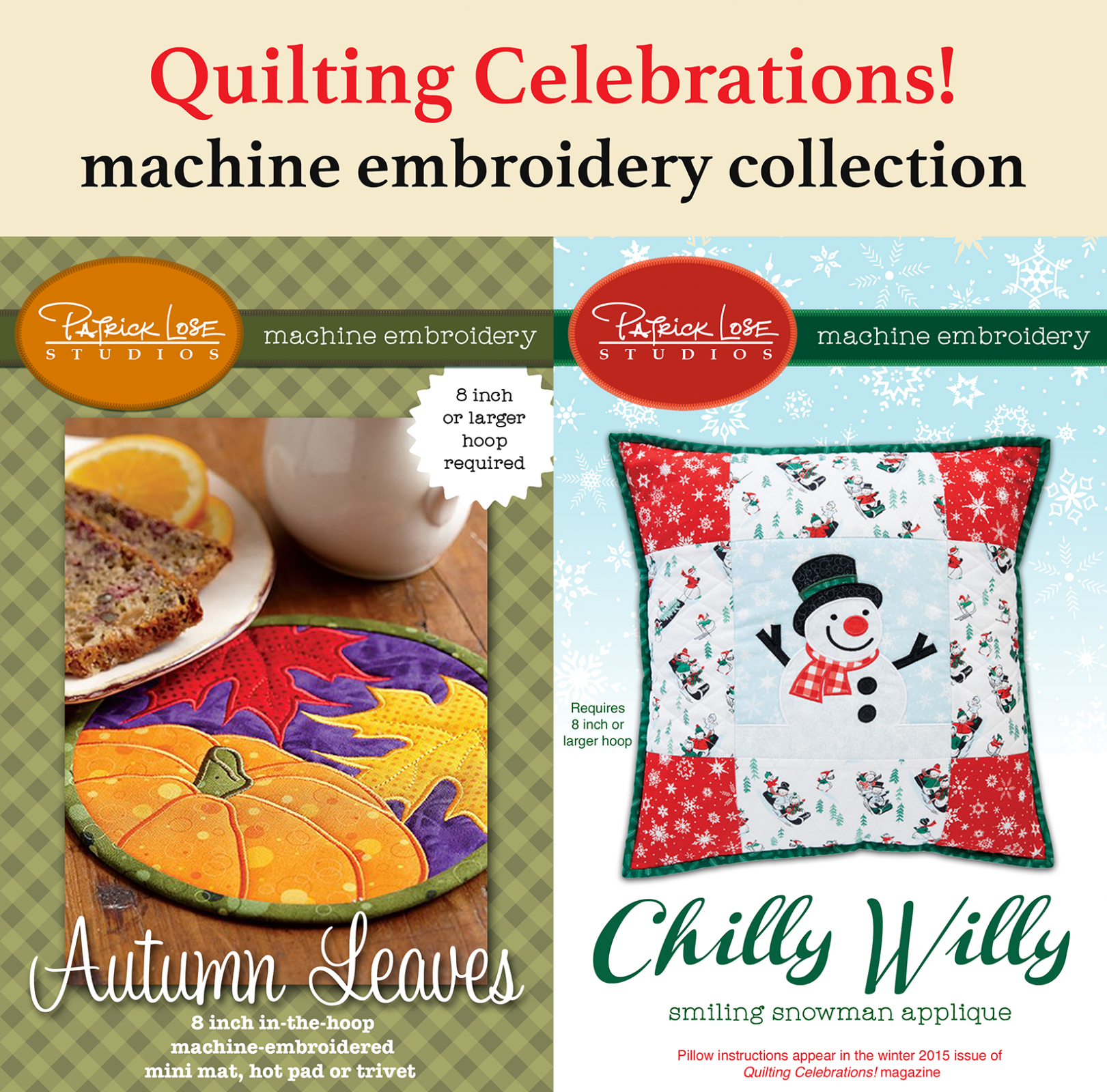 Quilting Celebrations branded USB collection SALE - 55% off!