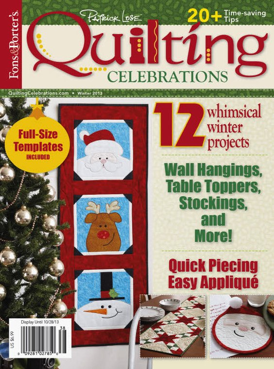 Quilting Celebrations Winter 2013 - OUT OF PRINT