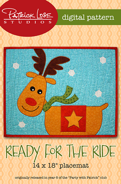 Ready for the Ride placemat