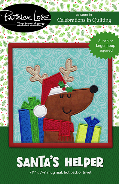 Santa's Helper mini mat