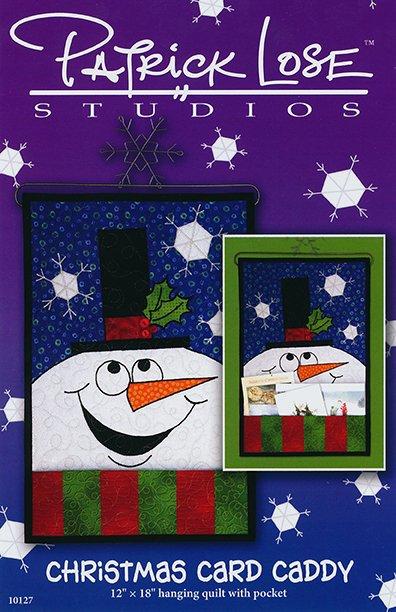 Christmas Card Caddy digital pattern