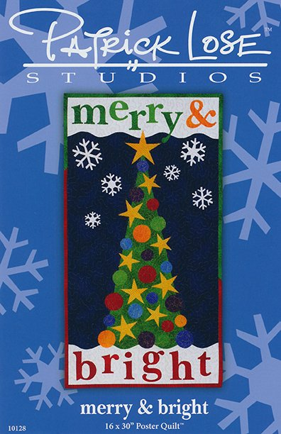 Merry & Bright digital pattern
