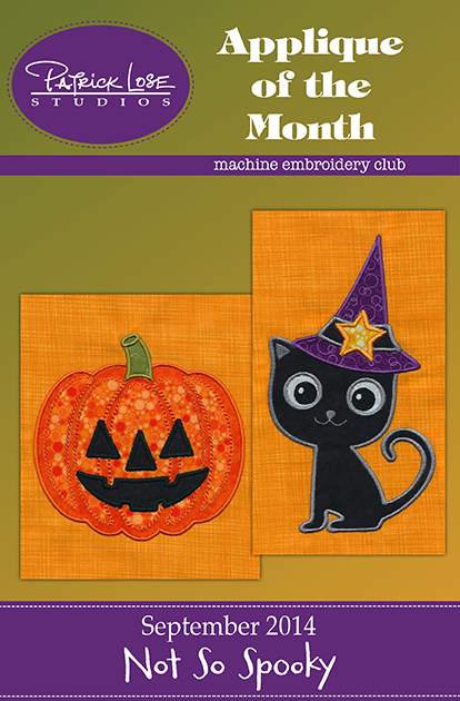 September  2014 Applique/non-member