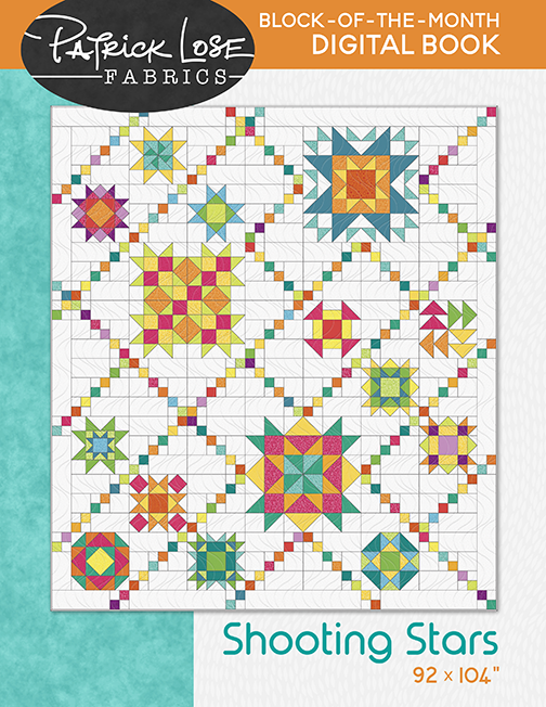 Shooting Stars digital pattern book