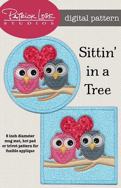 Sittin' in a Tree digital pattern