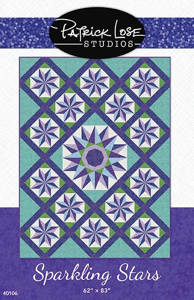 Sparkling Stars printed pattern