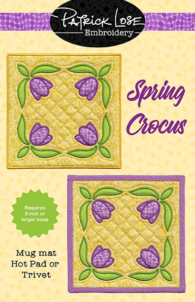 Spring Crocus mini mat