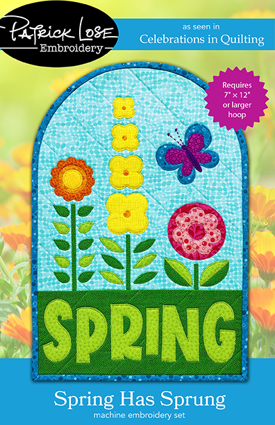 Spring Has Sprung embroidery files