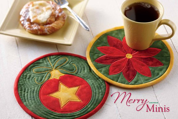 Merry Minis - Mug Mats