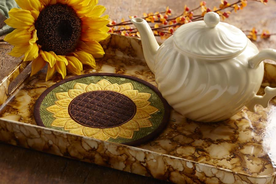 Sunflower mini mat
