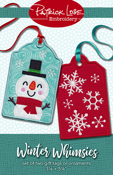 Winter Whimsies gift tags or ornaments