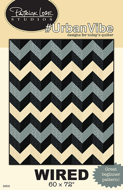 WIRED digital pattern