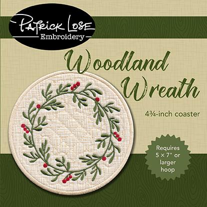 Woodland Wreath coaster ONLY