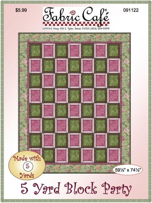5 Yd Pattern