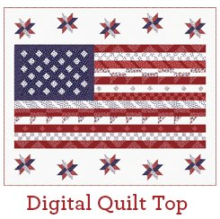 Flag of Freedom Quilt Kit