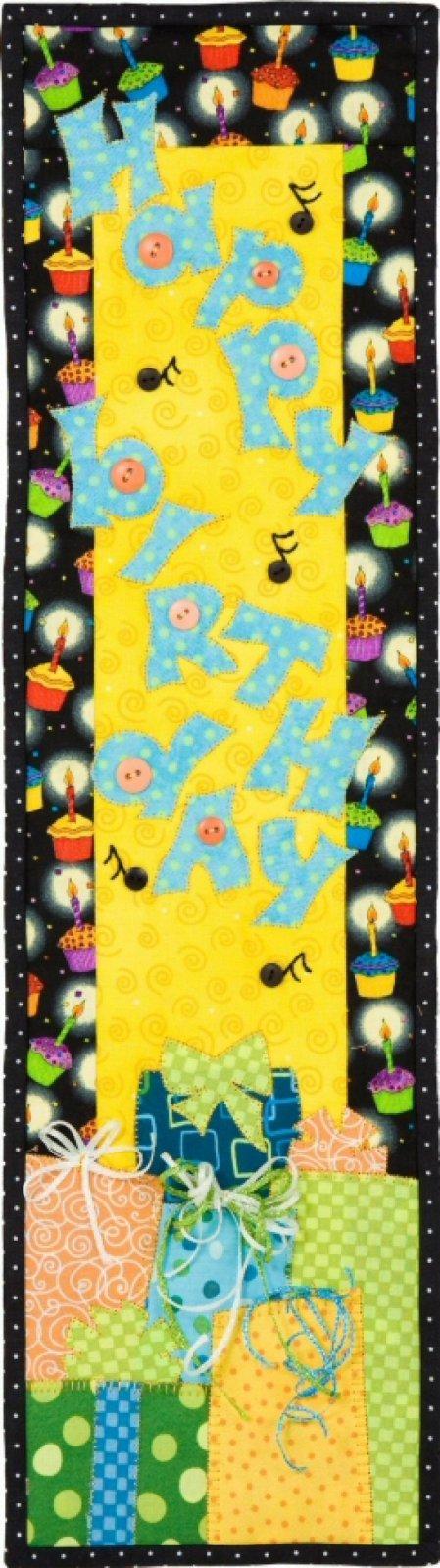 Happy Birthday Ribbon & Button Pack