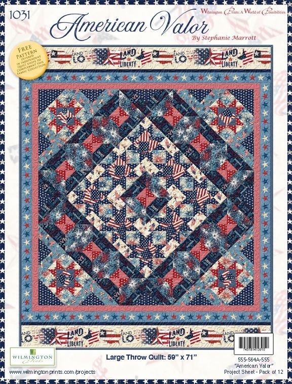 American Valor Quilt Kit