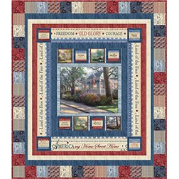 America The Beautiful Quilt Kit