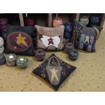 Primitive Wool Pincushion Kit