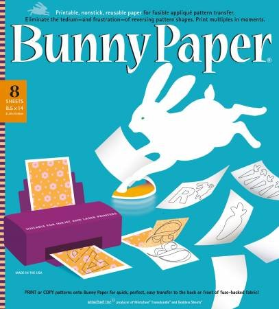 Bunny Paper 8-1/2in x 14in 8ct
