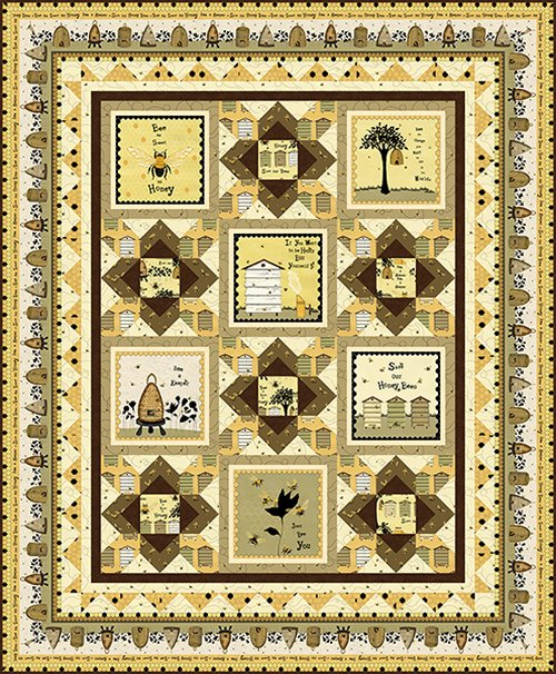 Bee A Keeper Quilt Kit