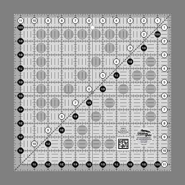 11 1/2  x 11 1/2  Creative Grids