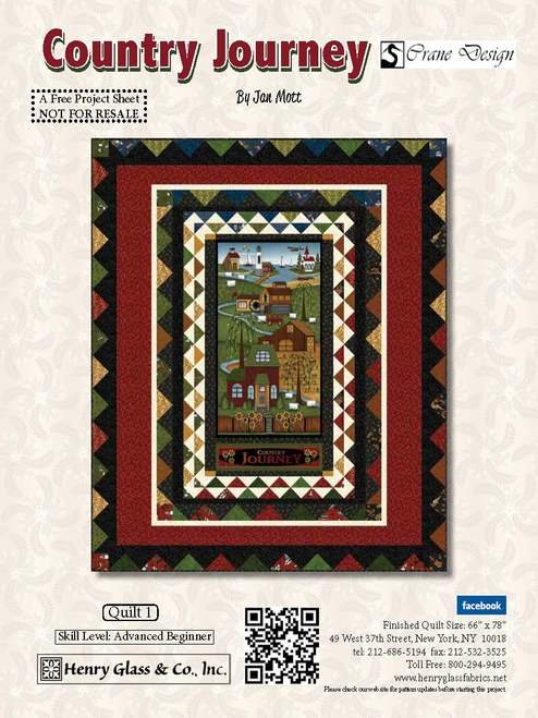 Country Journey Quilt Kit