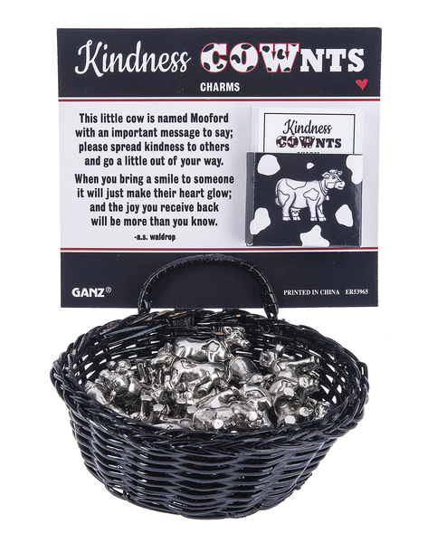 Kindness Cownts Charms