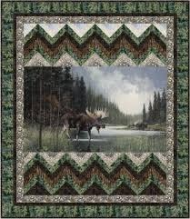 Moose Crossing Quilt Kit