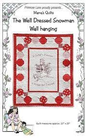The Well Dressed Snowman Wall Hanging
