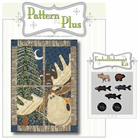 Northwoods Moose Pattern Pak Plus
