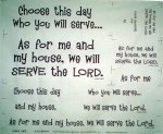 Joshua's Prayer Pattern & Panel