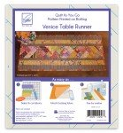 Quilt As You Go Table Runner Venice Pattern