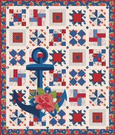 Admiral Harry Quilt Kit
