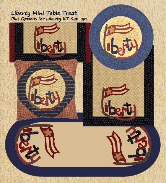 Liberty 17 Round MIni Table Treat
