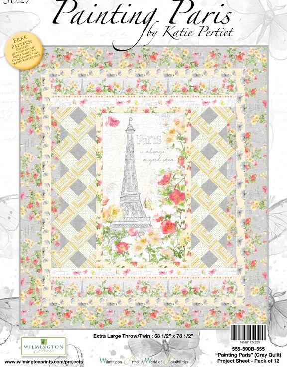 Painting Paris Quilt Kit