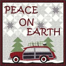 Peace On Earth Quilt Kit