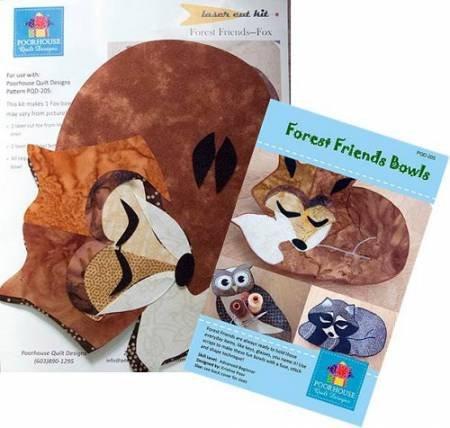 Laser Cut Kit, Forest Friends - FOX