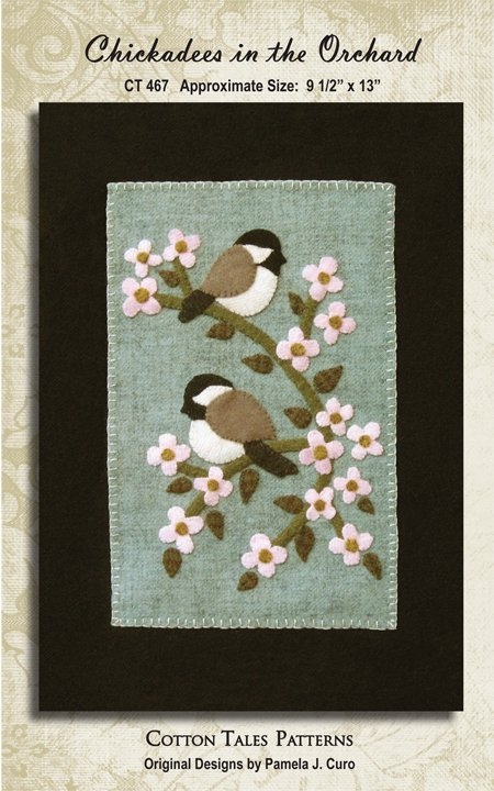 Chickadees In The Orchard
