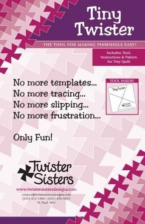 Tiny Twister Pinwheel Template