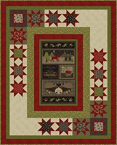 Welcome To The Woods Quilt Kit